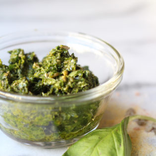 In The Kitchen: A Spin On Classic Basil Pesto