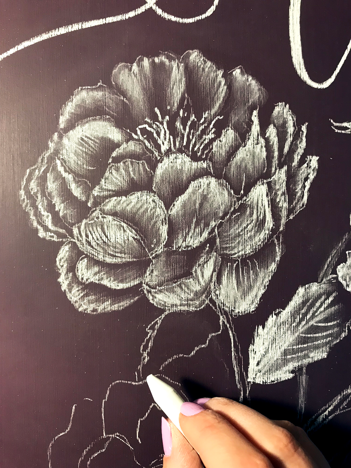 Lily & Val Introduces Colored Chalkboard as part of their Spring 2018 Flora Collection