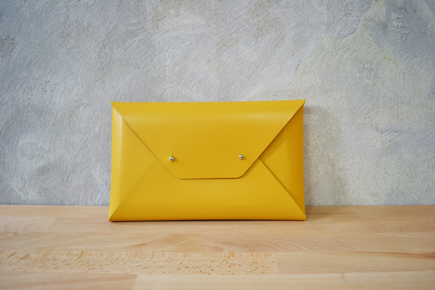 Beautiful Handmade Leather Clutch