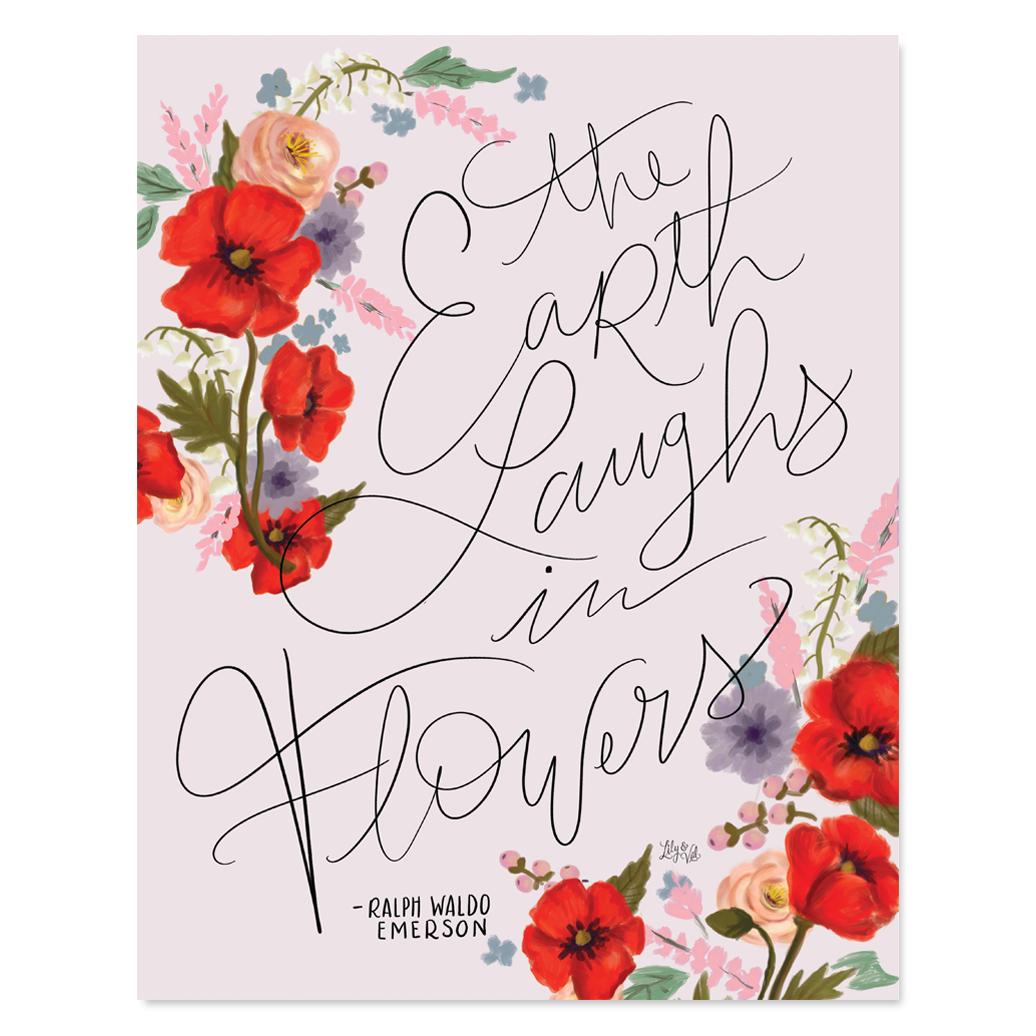 Earth Laughs in Flowers Artwork - Print and Canvas