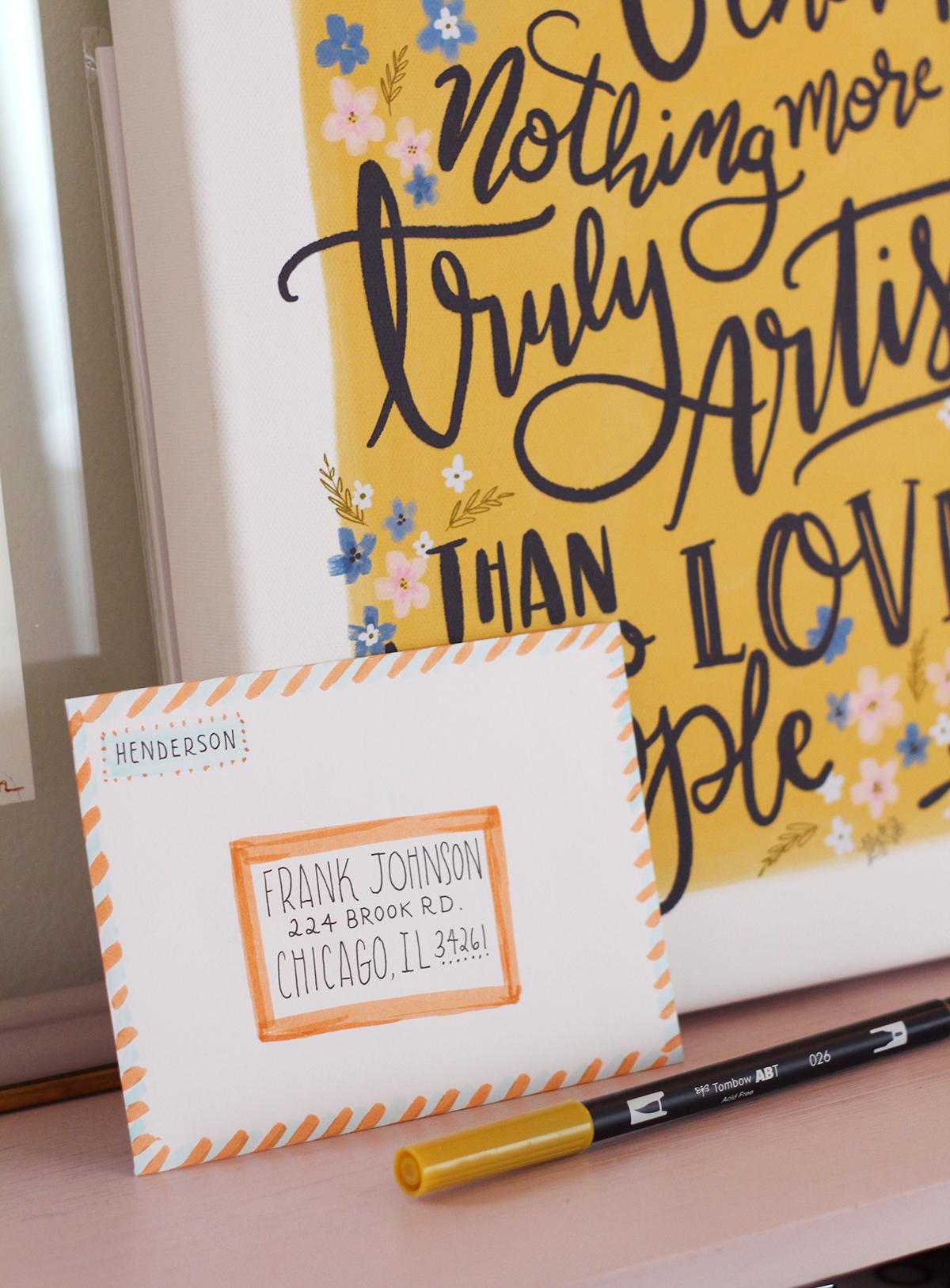 Lily & Val Canvas plus envelope decorating ideas -on the blog!