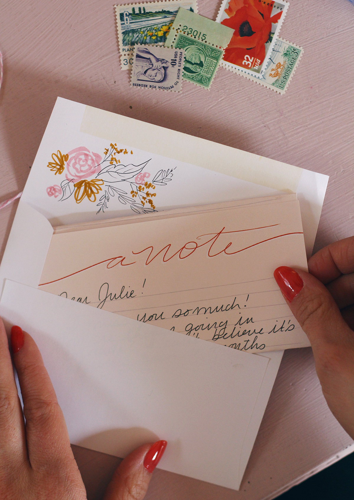 Lily & Val Exclusive Designed Stationery Sheets for national Letter Writing Month