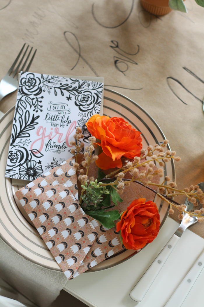 DIY Letter Writing Party Decor-Make These Floral Filled Envelopes
