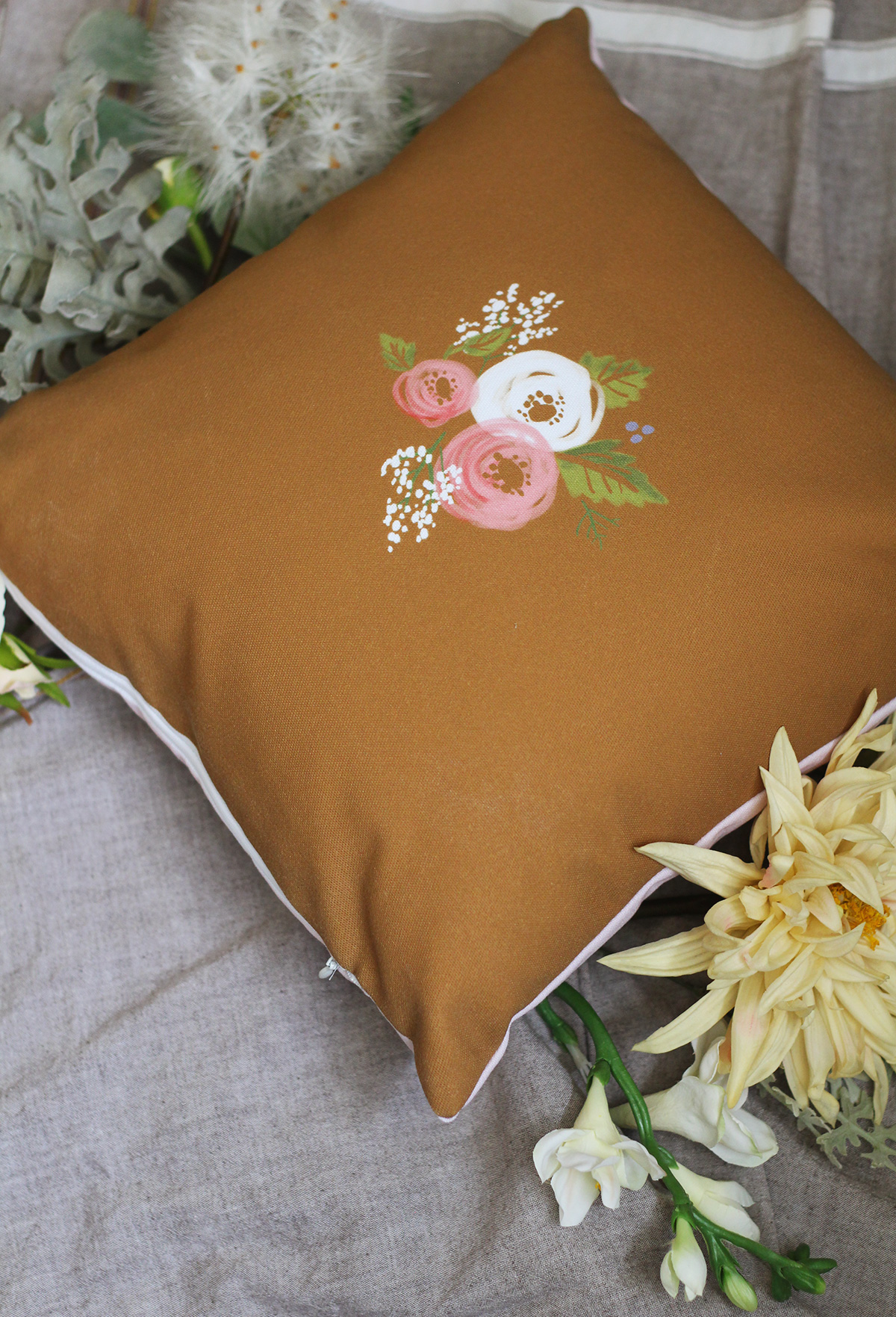 Limited Edition Handmade Pillows Are Here For Mother's Day