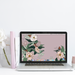 May's Floral FREE Desktop Wallpaper Download