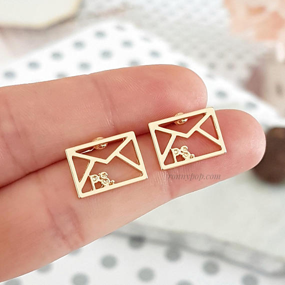 Beautiful P.S. Envelope earrings!