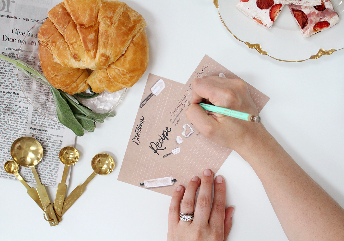 5 Reasons Why We Should Handwrite Our Recipes