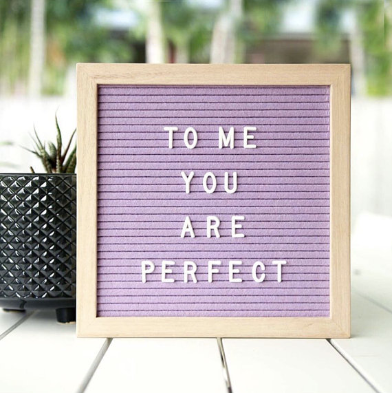 a fun spin on the classic letterboard, perfect for kids rooms and special color event color schemes