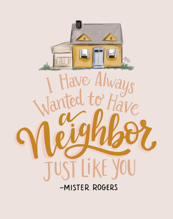 Free Art Print In Honor of the New Mister Rogers Documentary