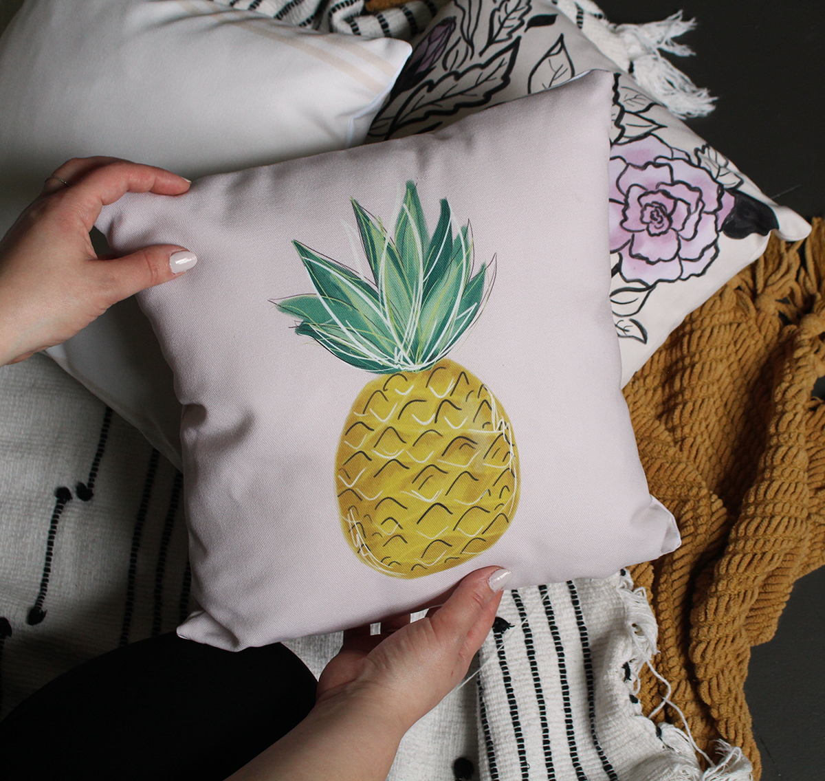 Handmade Indoor Outdoor Pillow