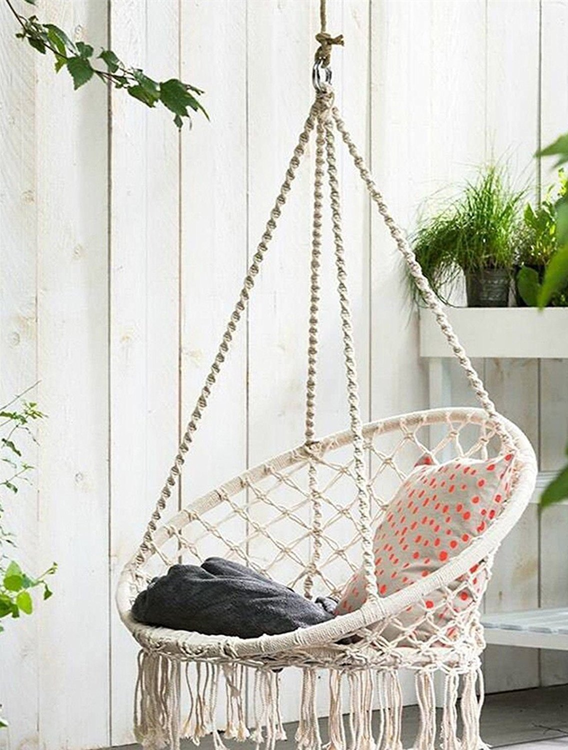 super comfy and stylish patio swing