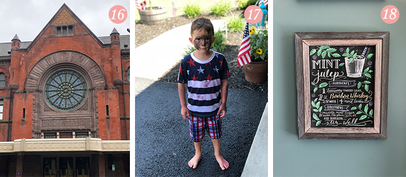 Lily & Val Presents: Pretty Ordinary Friday #95 with Indianapolis architecture, boys will be boys and Lily & Val in our home