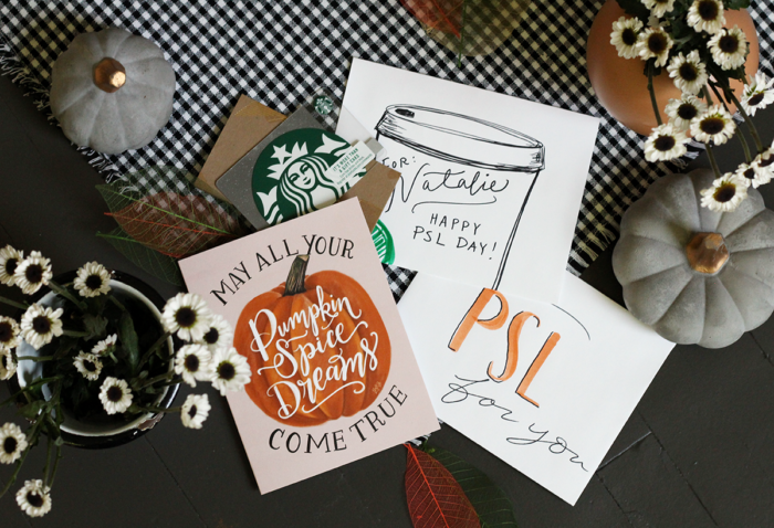 How to Jazz Up a Starbucks Gift Card For a Pumpkin Spice Latte Lover