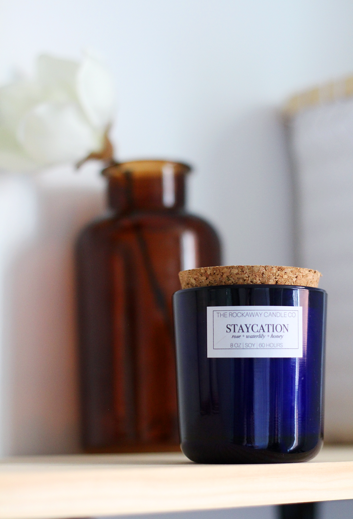 Exclusive Rockaway Candle as part of Lily & Val Staycation Surprise Box Launching on Thursday, July 26th