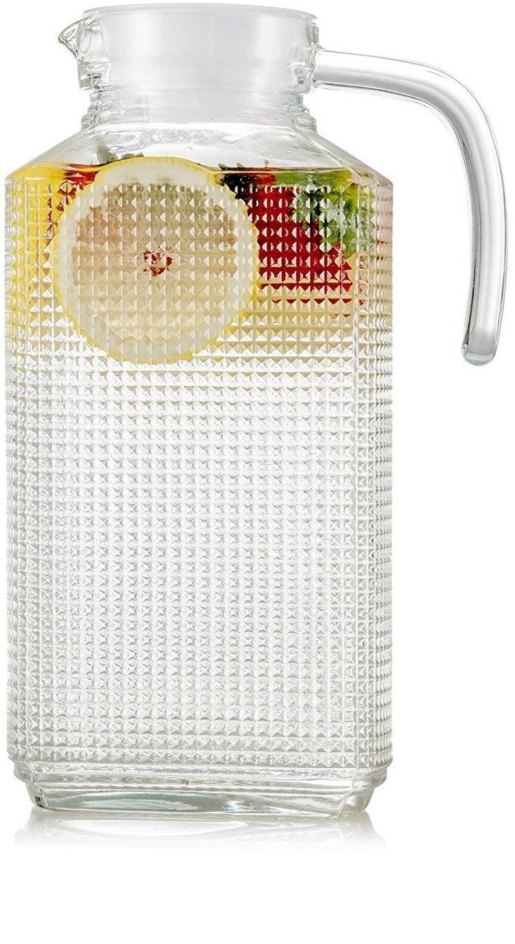 Always keep a cute pitcher of fruit infused water handy to quench that summer thirst. This may even help your family drink more water!