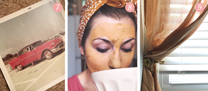 Lily & Val Presents: Pretty Ordinary Friday #96 with old family photos, mud masks and refreshed kitchen hardware