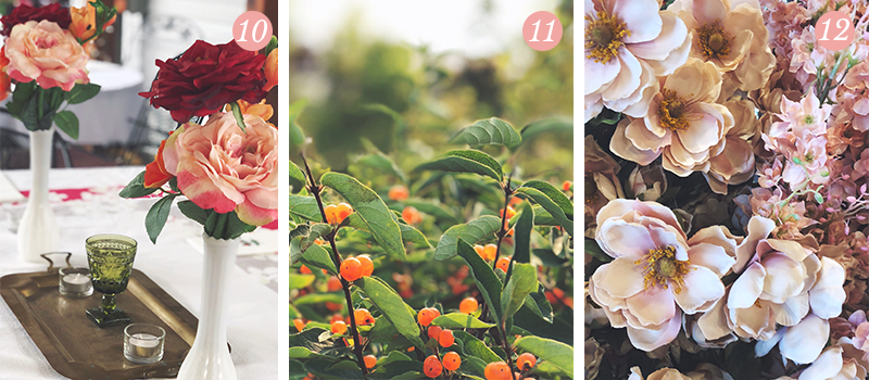 Lily & Val Presents: Pretty Ordinary Friday #96 with 80th birthday party decor, fresh berries and faux fall florals