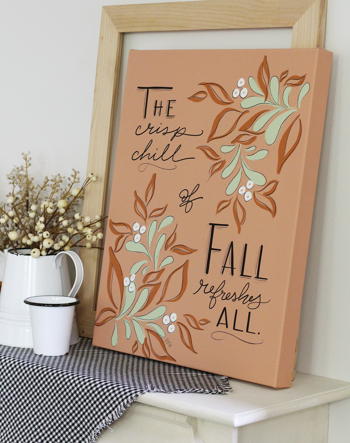 The 2018 Lily & Val Fall Home Decor and Stationery Collection: Gather