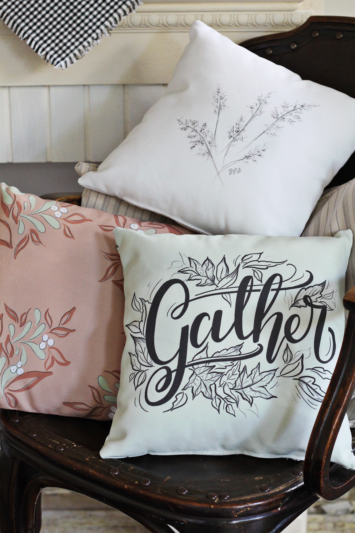Cozy your home with new Lily & Val Fall Pillows