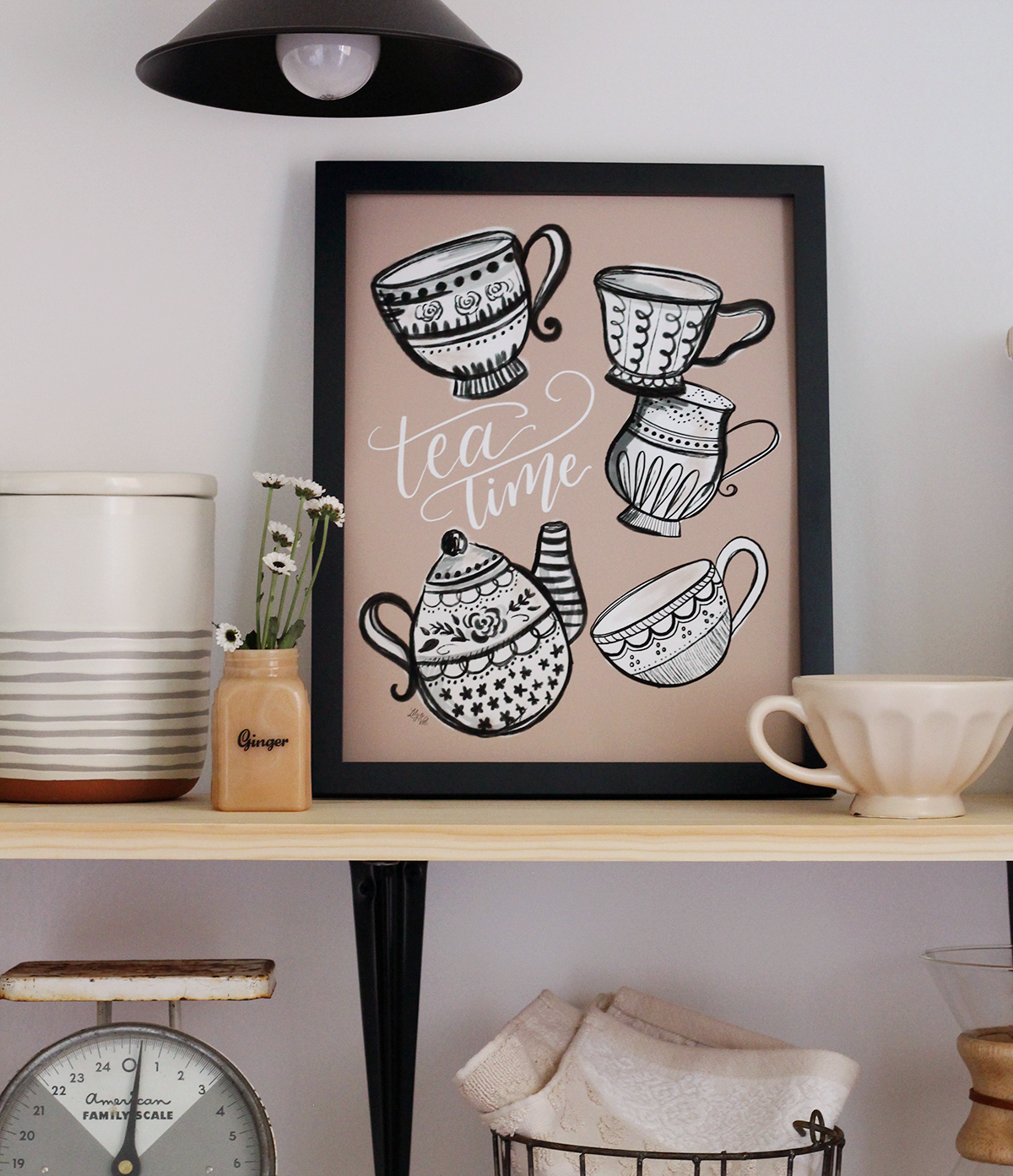 A print for the tea lovers!