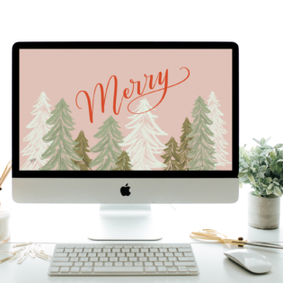 "December's ""Merry"" FREE Desktop Download"