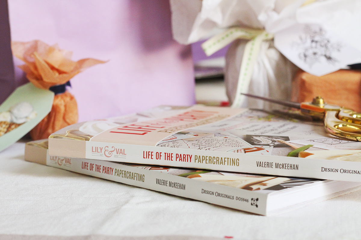 Life Of The Party Papercrafting is an entire book of paper crafts for parties. Perfect for paper lovers and scrapbookers!