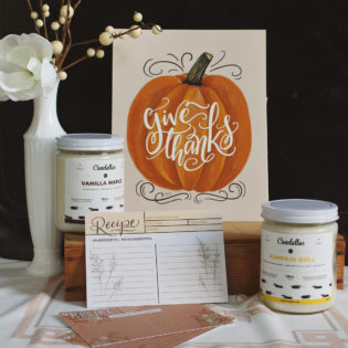 Lily & Val Loves: Fall Candles