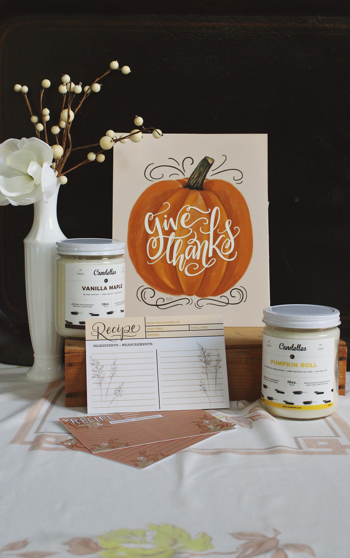 classic fall candles are a favorite of ours