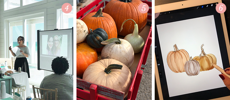 Lily & Val Presents: Pretty Ordinary Friday #98 with Society of Creative Founders, Soergel's pumpkin patch haul and iPad pumpkin drawings