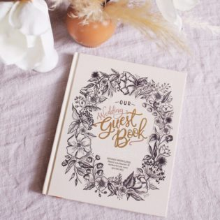 Meet the Lily & Val Wedding Guestbook