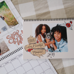 Lily & Val For Mixbook Photo Wall Calendars Are Here