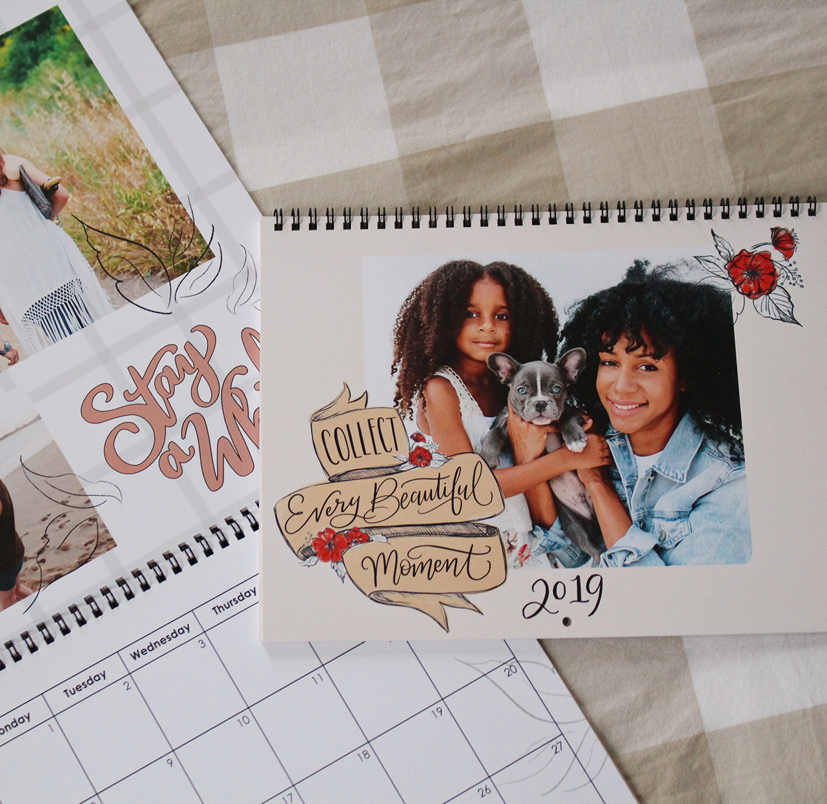 Customize your Lily & Val for Mixbook Photo Wall Calendar - Collect Every Beautiful Moment