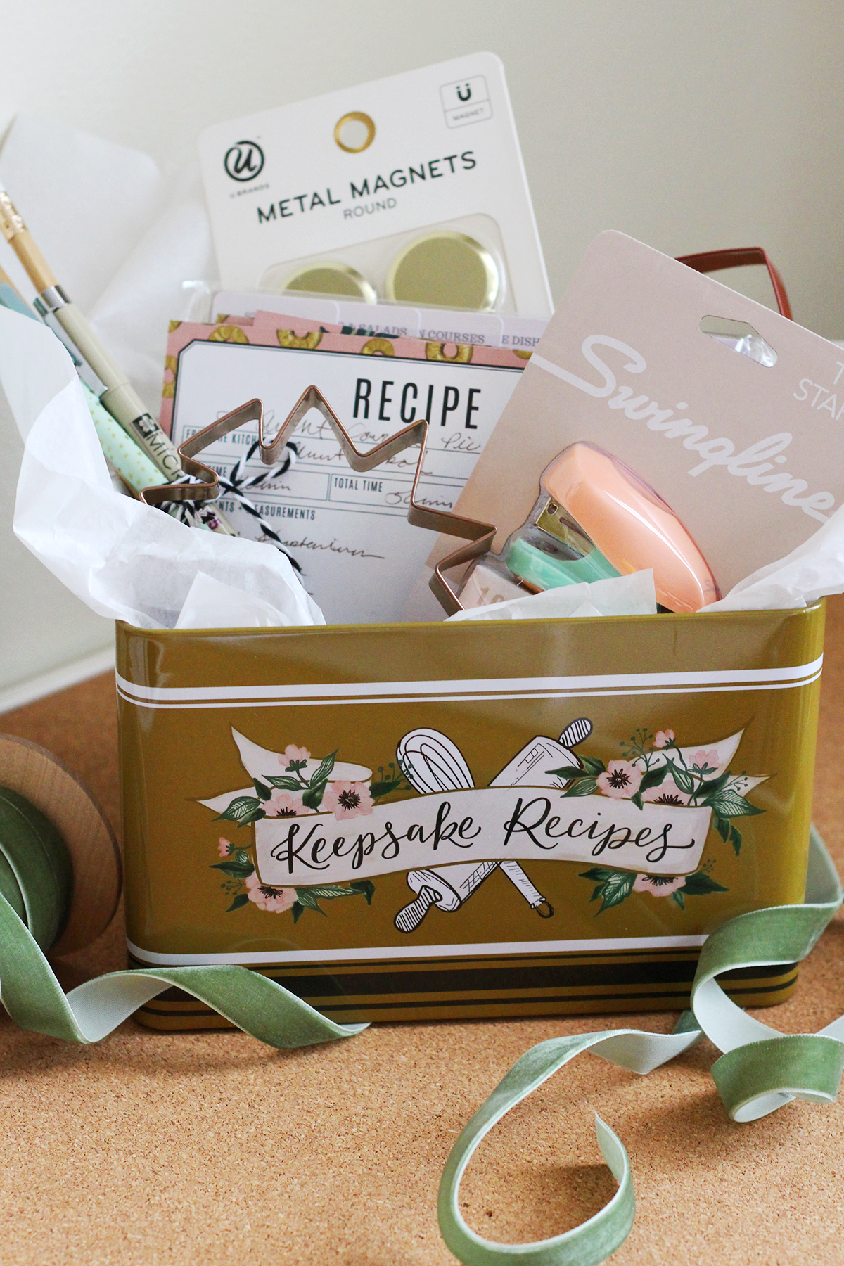 Gifting our new Lily & Val Recipe Tins