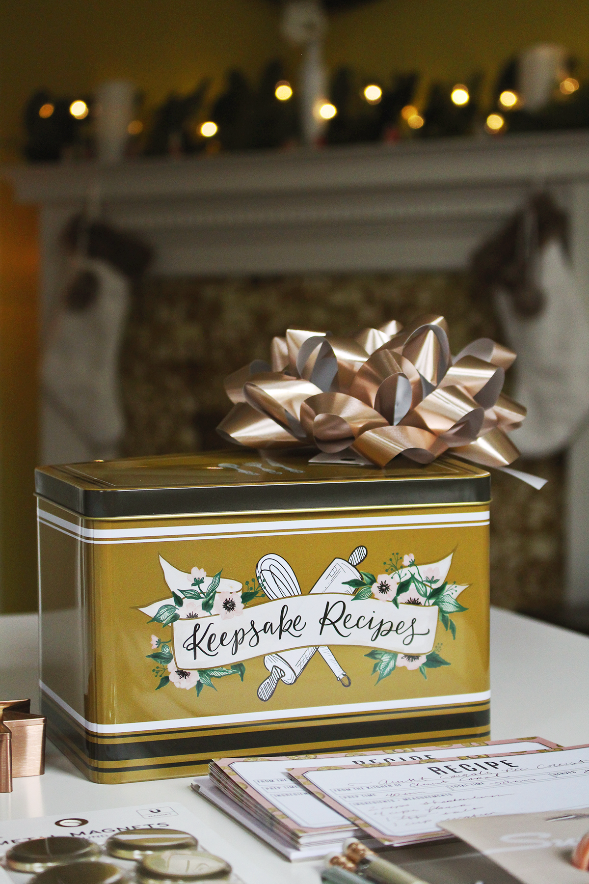 Recipe Tin For Holiday Gifting