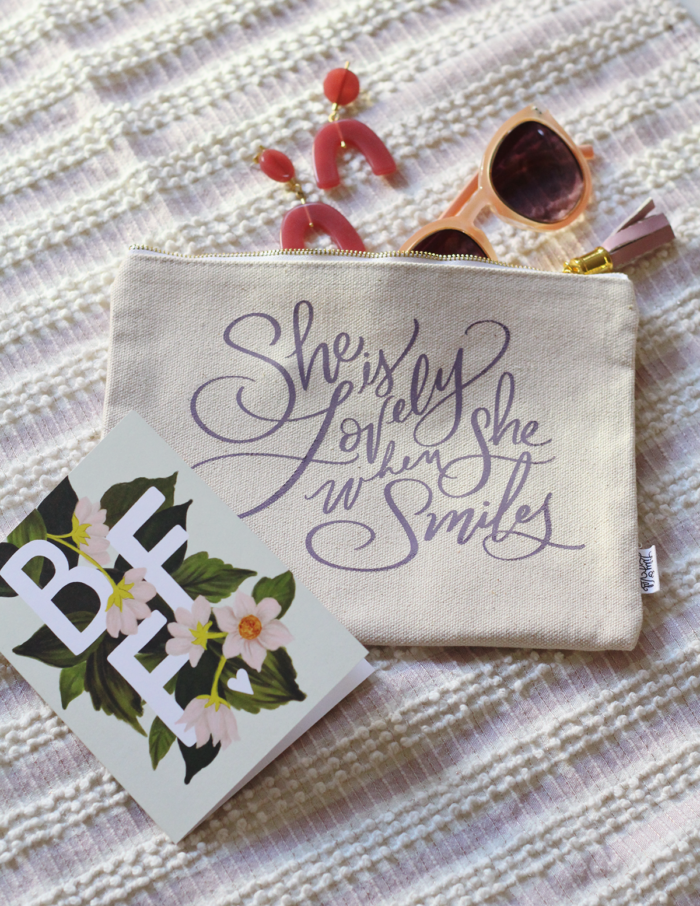 Fun Galentine Gift Ideas Using Zippered Pouches