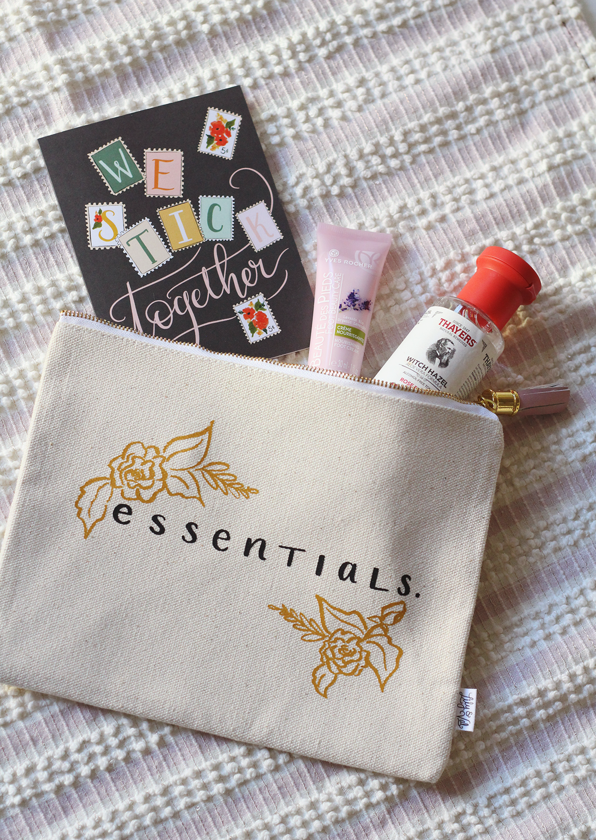 Essentials gift pouch idea!