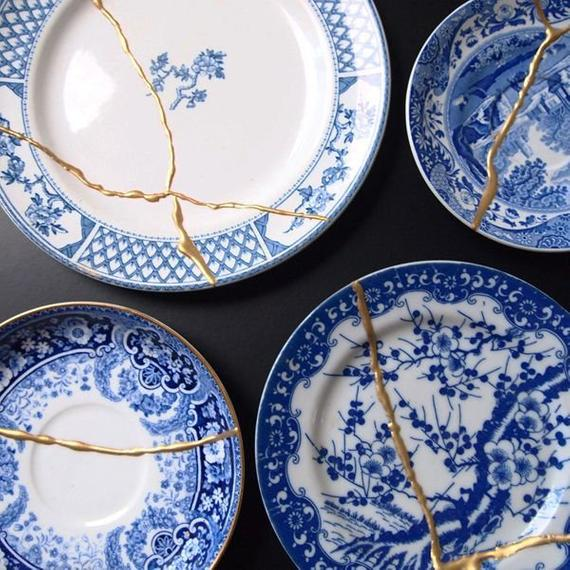 Salvage beautiful pieces by embracing the cracks. Use this Kintsugi Kit to embrace the Japanese custom of making the cracks beautiful.