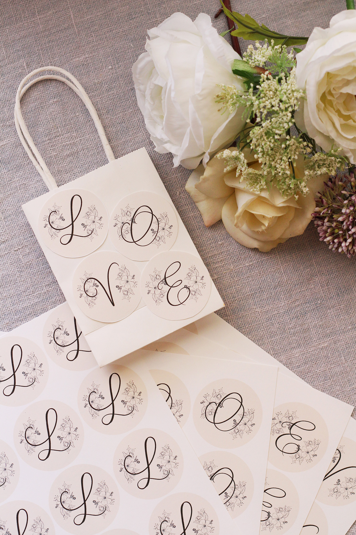 Printable Favor Tag or Labels