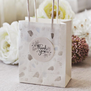 Wedding Favor Bag DIY Using Our Printable Labels and Tags