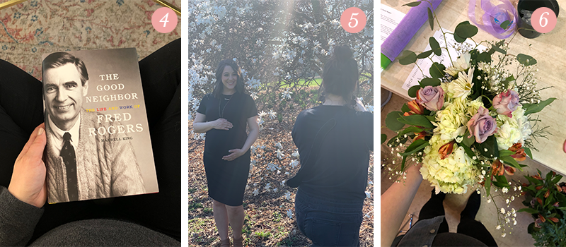 Lily & Val Presents: Pretty Ordinary Friday #104 with The Good Neighbor, maternity shoots and Spring floral arrangements