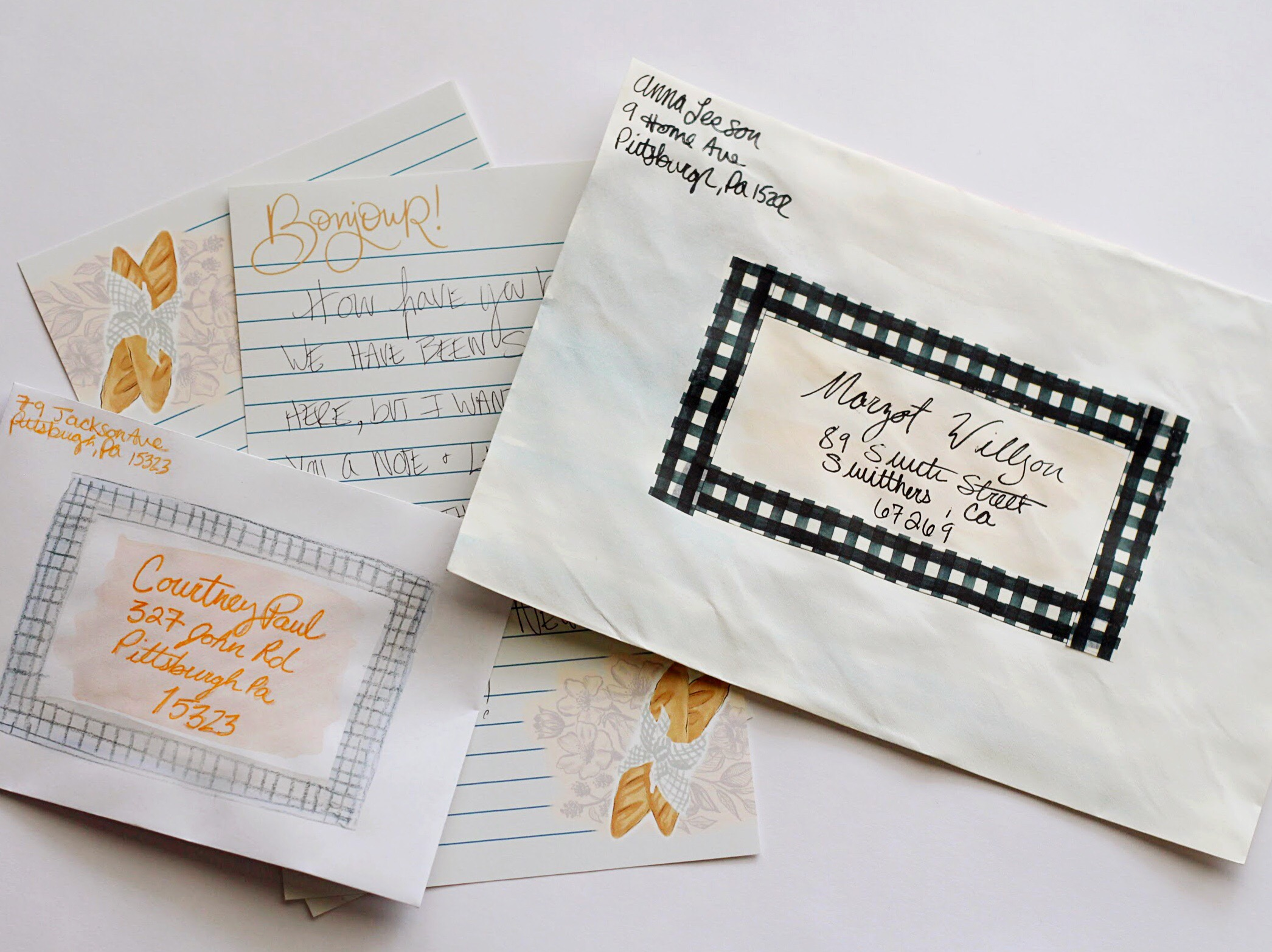 DIy Envelope Decorating