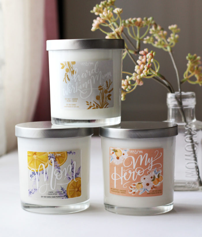 Limited Edition Soy Wax Candles Are Here For Mother's Day