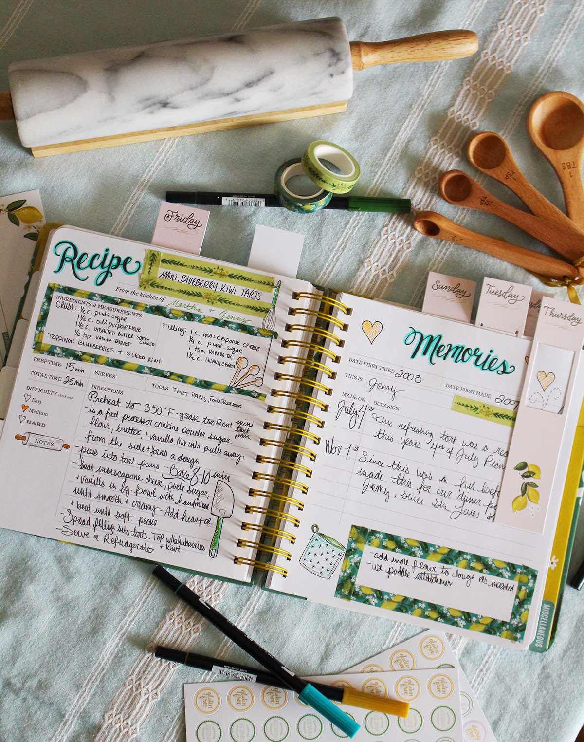 Keepsake Kitchen Diary Crafting Supplies now available