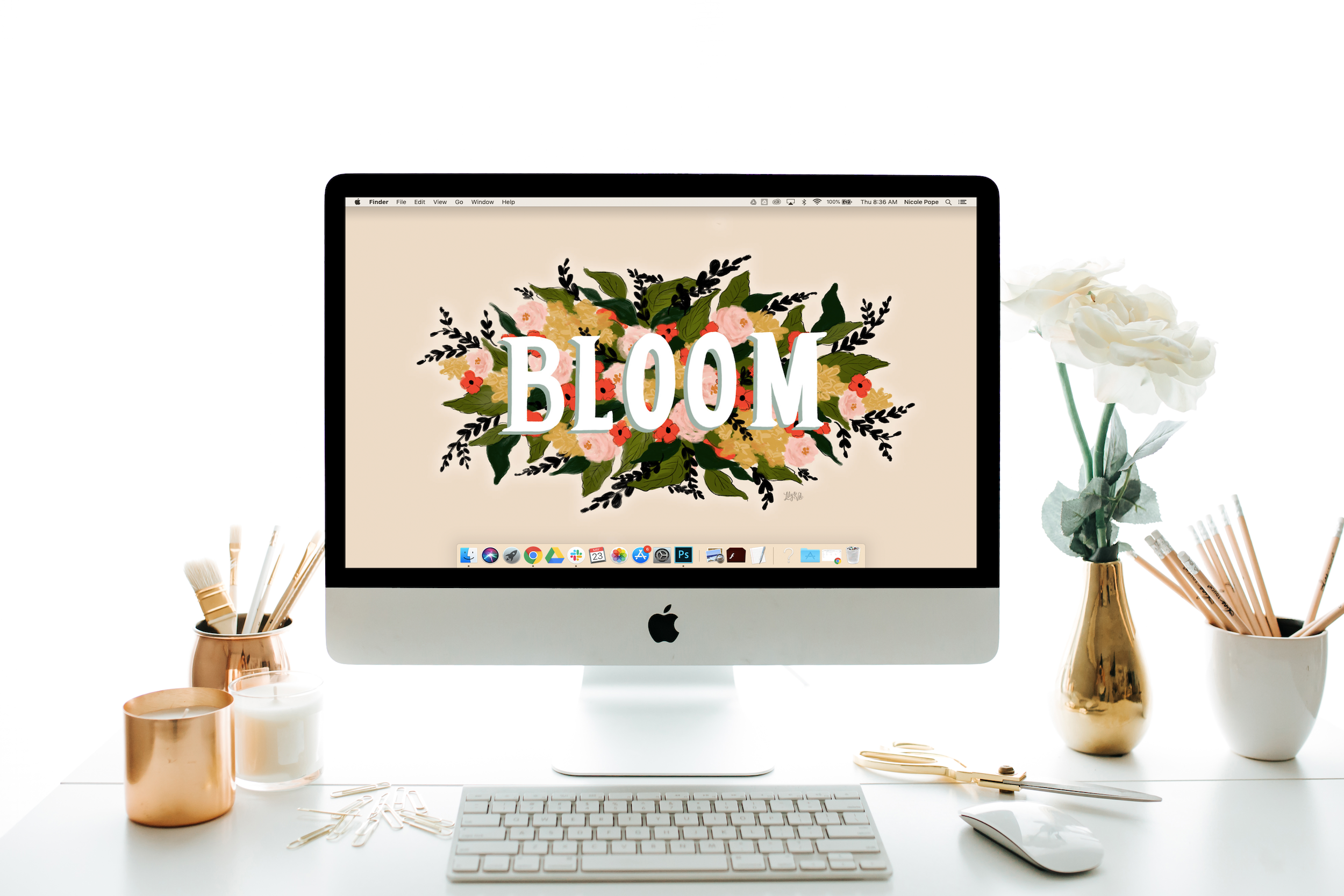 "August's ""Bloom"" FREE Desktop Download"