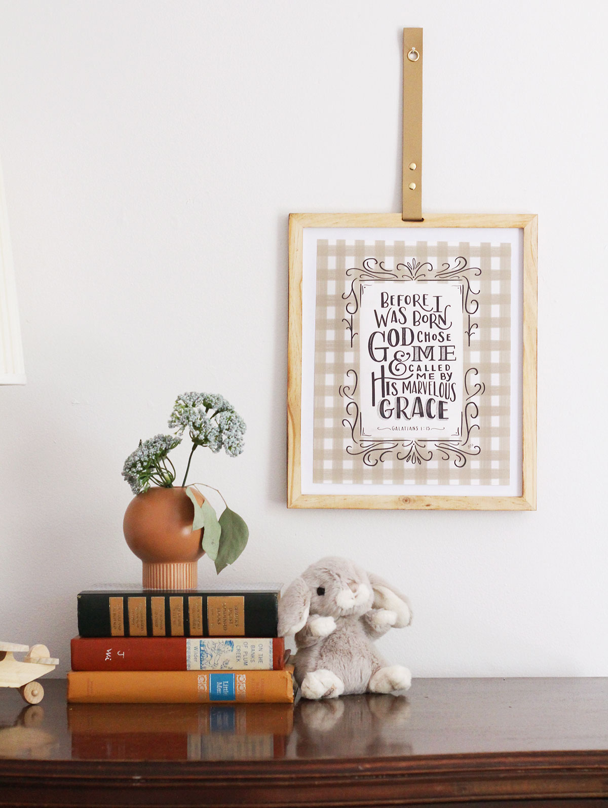 Galatians 1:15 Nursery Wall Art