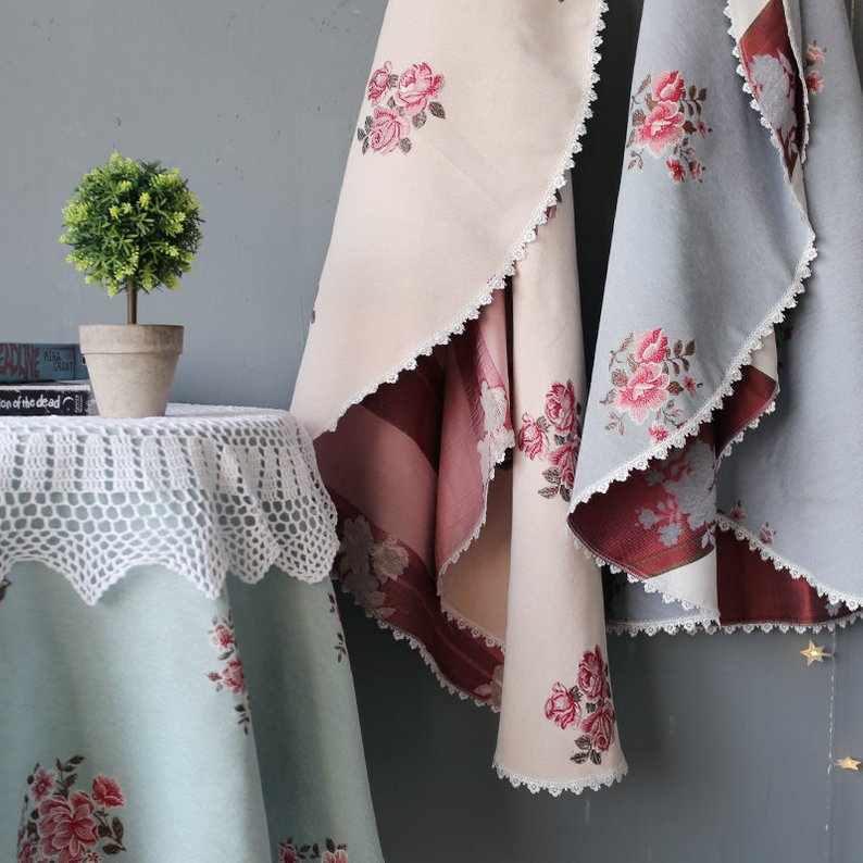 Floral Table Linens