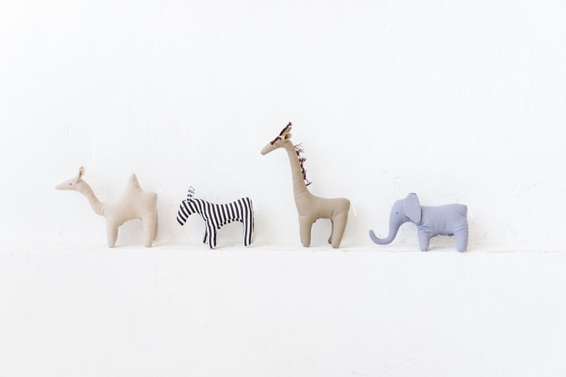 Beautiful Zoo Animal Baby Toys