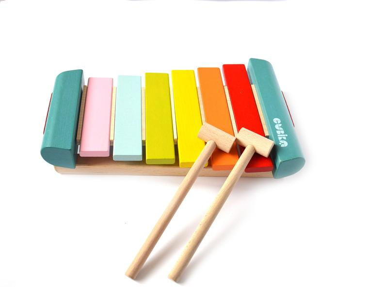 Beautiful Wooden Xylophone Toy made of wood