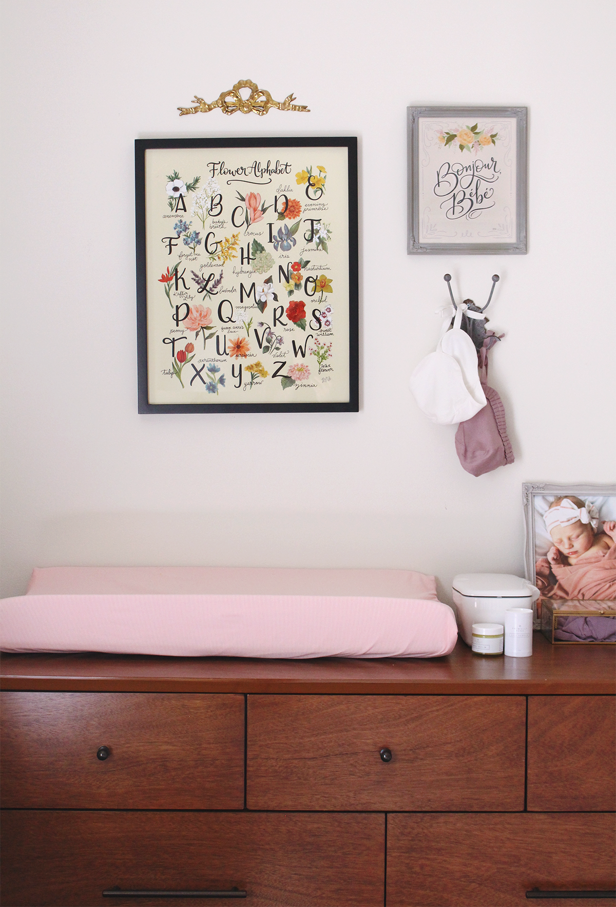 Vintage Floral Inspired Nursery Girl