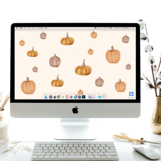 "September's ""Pumpkin"" FREE Desktop Download"